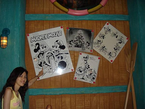 Micky跟Minnie的照片