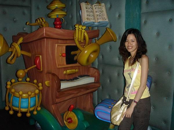 自動演奏的鋼琴