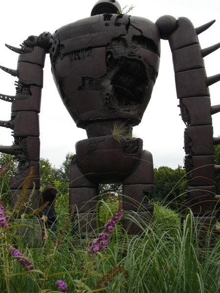 機器人背面