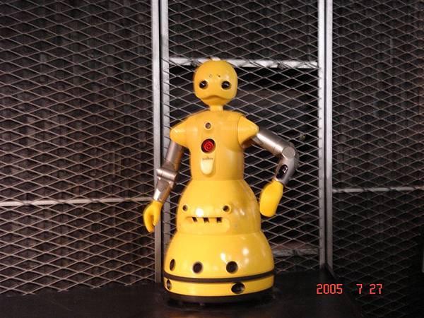 三菱未來館的機器人