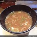 套餐附的免費味增湯