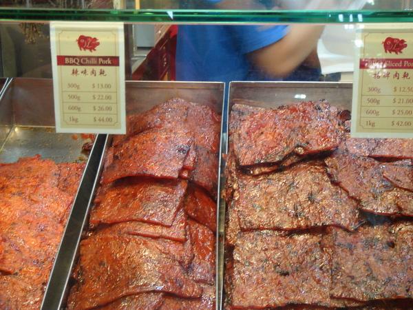 滿滿的肉乾