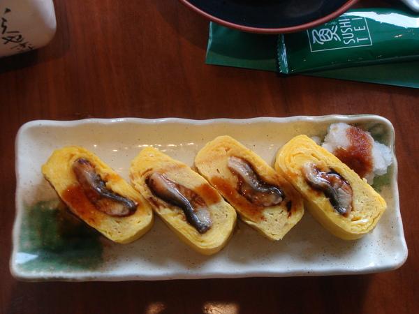 鰻魚雞蛋捲