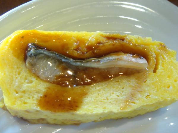 鰻魚雞蛋捲特寫