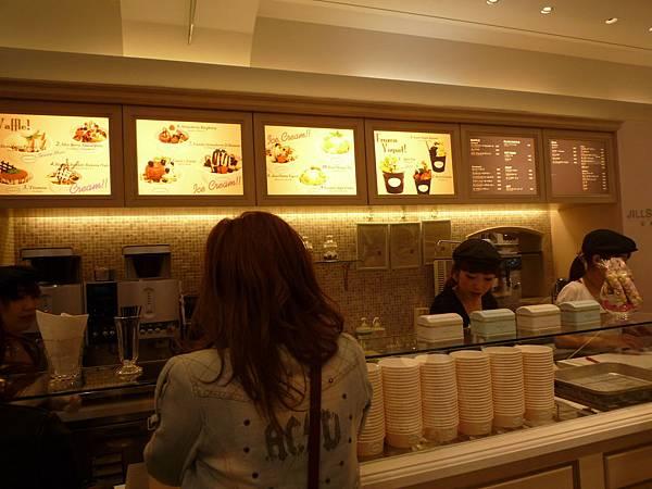 CAFE店這還是保持粉色夢幻樣