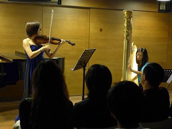 0526-3 4+47的茵芫-小提琴豎琴二重奏