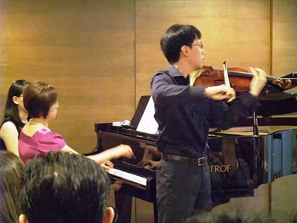 20100627-1 余道昌小提琴獨奏會 熱情西班牙
