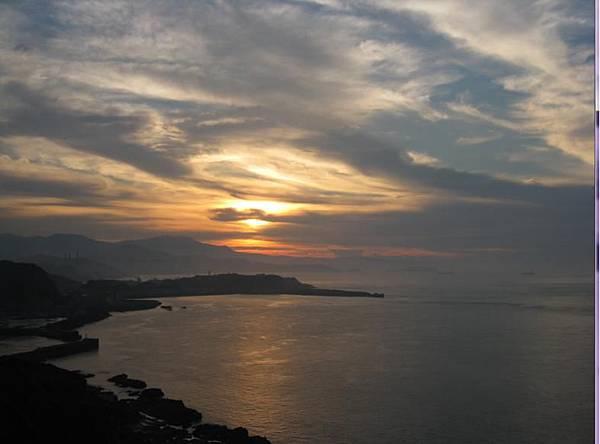 八斗子夕陽1