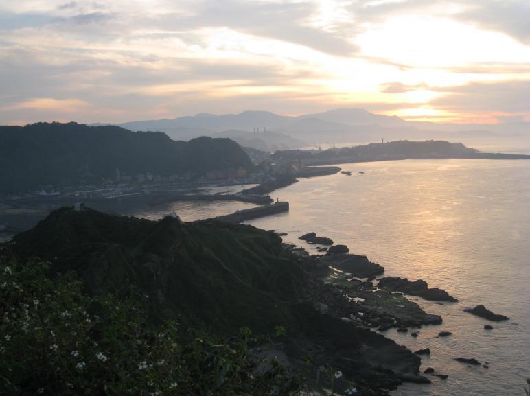 八斗子夕陽2