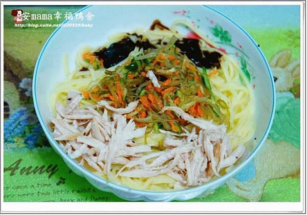 水晶泡菜 +涼麵