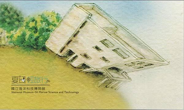 夏日輕旅行明信片