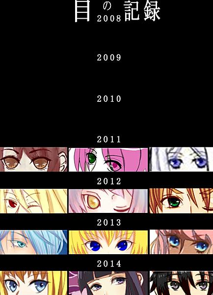 目の記録2014