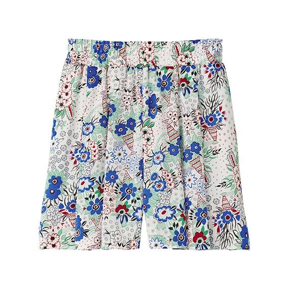 002女裝Celia Birtwell 短褲-00White-1