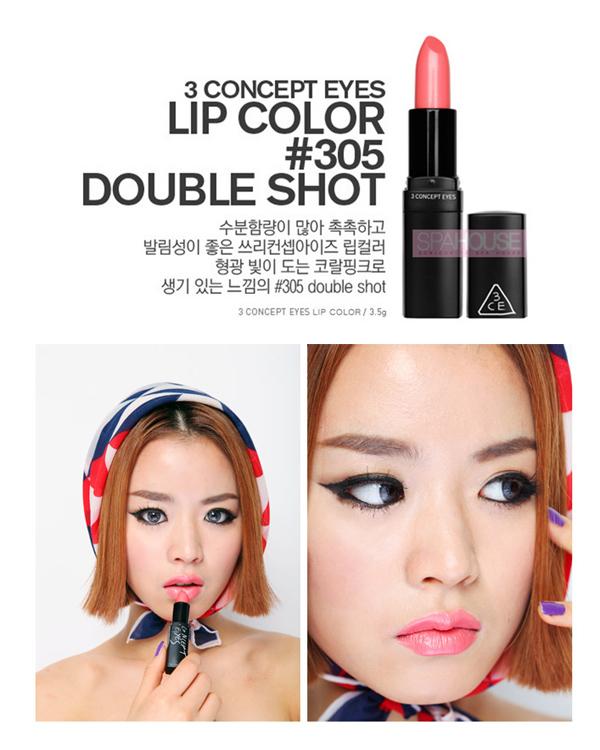 3CE口紅(唇膏) #305 Double Shot