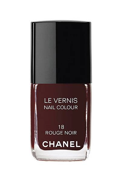 Chanel #18- Rouge Noir