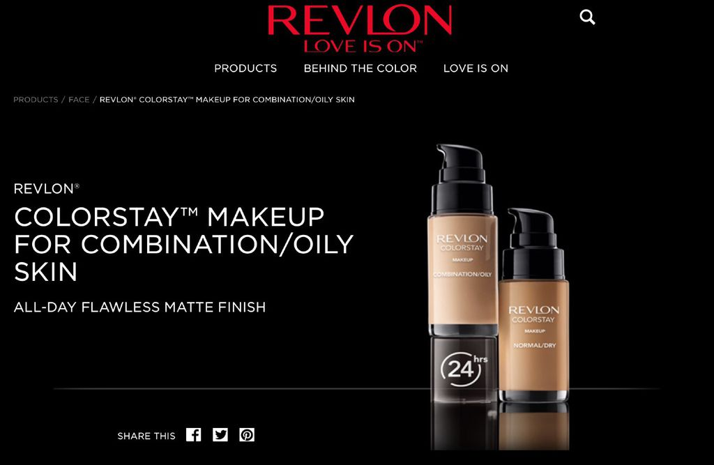 REVLON® COLORSTAY™ MAKEUP FOR COMBINATION%2FOILY SKIN
