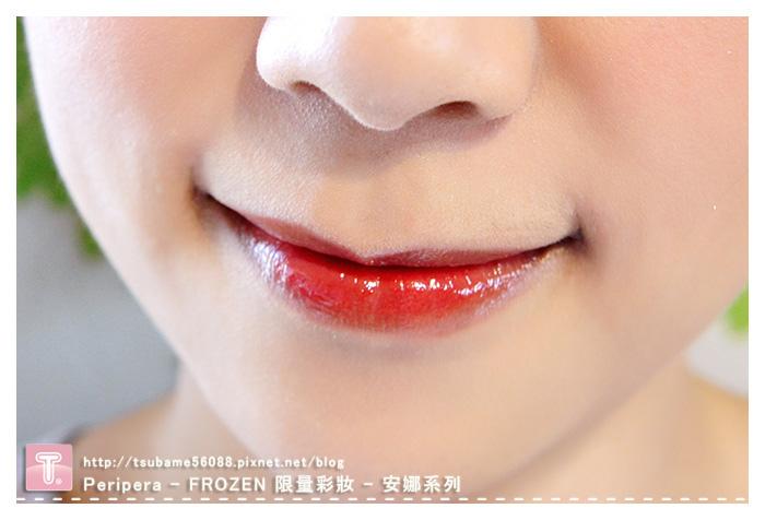 安娜唇蜜 顏色是漂亮的珊瑚色