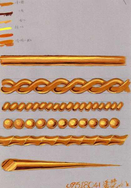 金屬材質表現