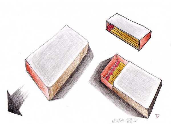 色鉛筆練習