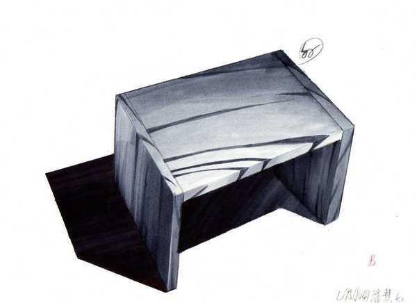 麥克筆木製椅子
