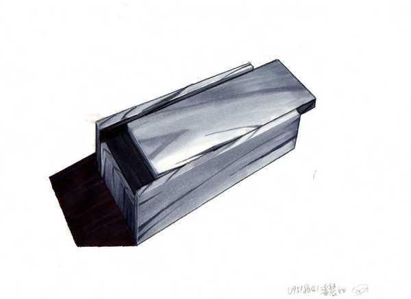 麥克筆木紋方盒