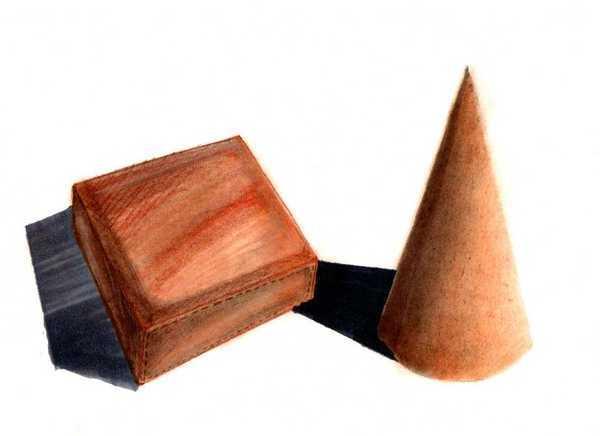 粉彩皮革材質練習