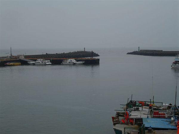 天氣不好的漁人碼頭