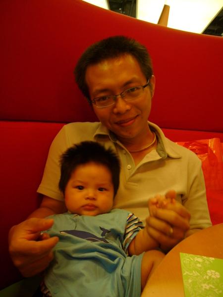 小杰跟爸逼in 海港城