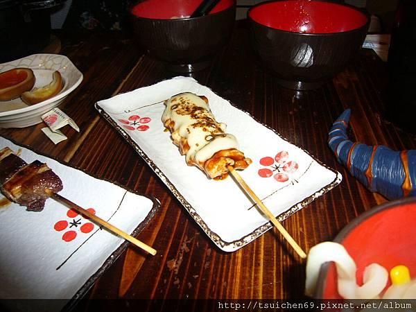 大門橫丁-芝士雞肉串