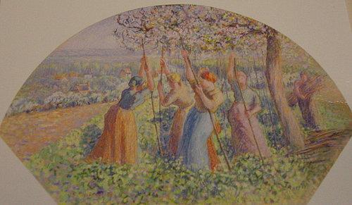 搭碗豆棚架的農婦們.jpg