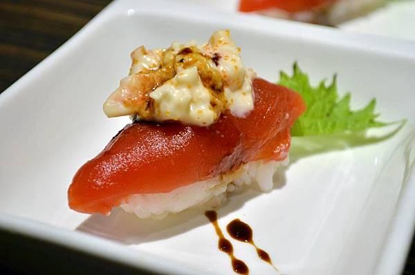 番茄蝦醬握壽司