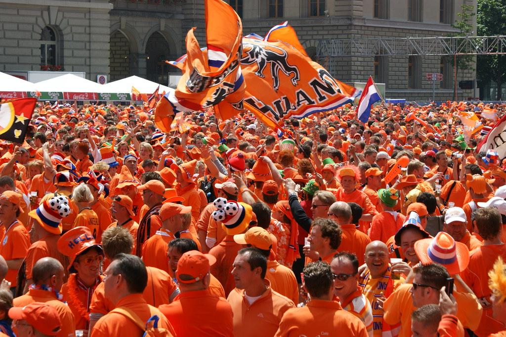 荷蘭國王節 橘色