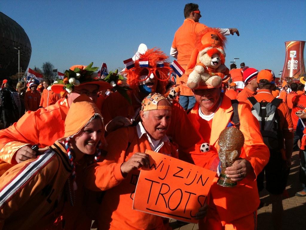 荷蘭國王節 橘色 Oranje