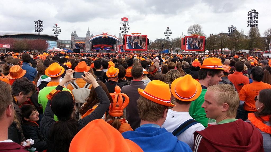 荷蘭國王節 派對