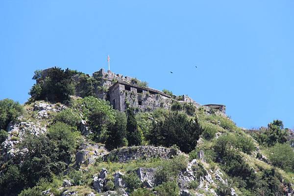 Montenegro, Kotor-120614-018-山頂城堡