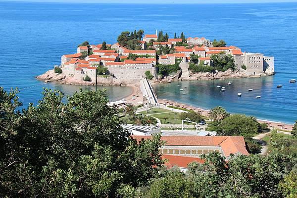 Montenegro, Budva-120615-021-公主島