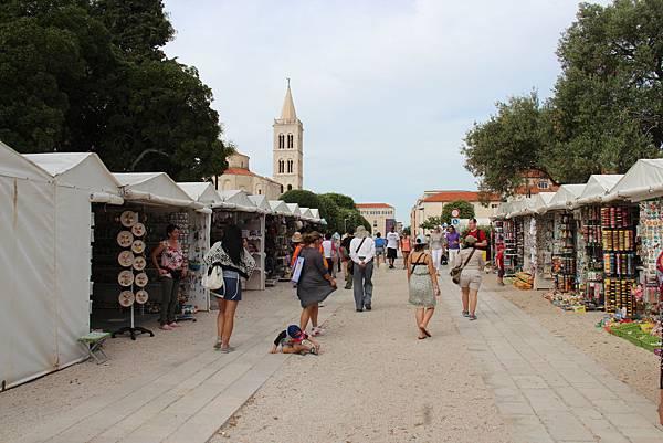Croatia, Zadar-120609-055-小市集