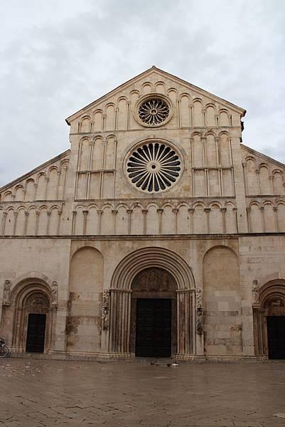 Croatia, Zadar-120609-100-聖安娜史塔西亞教堂
