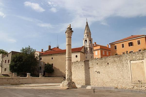 Croatia, Zadar-120609-069-Roman Forum-羞恥之柱