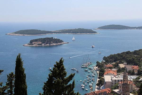 Croatia, Hvar-120611-077-古堡遠眺