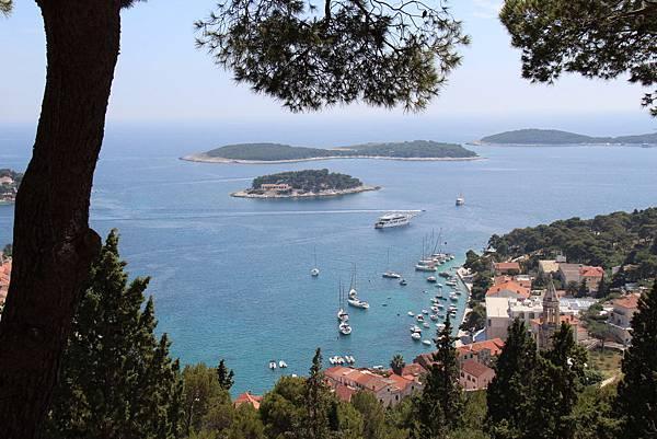 Croatia, Hvar-120611-094-古堡遠眺