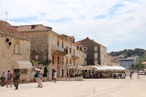 Croatia, Hvar-120611-101-史特亞波納廣場