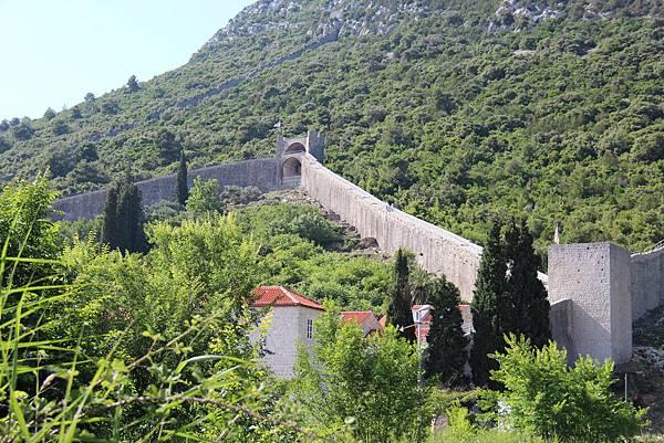 Croatia, Ston-120612-005-歐洲最長史東城牆 (5.5 km)