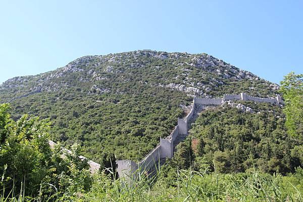 Croatia, Ston-120612-007-歐洲最長史東城牆 (5.5 km)