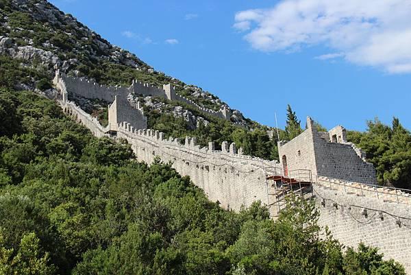 Croatia, Ston-120612-025-歐洲最長史東城牆 (5.5 km)