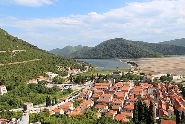 Croatia, Ston-120612-036-史東城牆遠眺