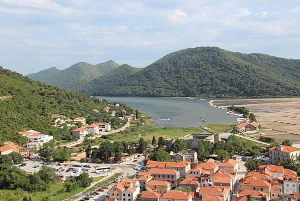 Croatia, Ston-120612-043-史東城牆遠眺