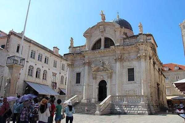 Croatia, Dubrovnik-120613-037-聖布雷瑟教堂