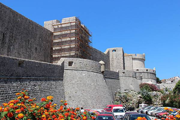 Croatia, Dubrovnik-120613-118-城牆及明闕塔守望塔