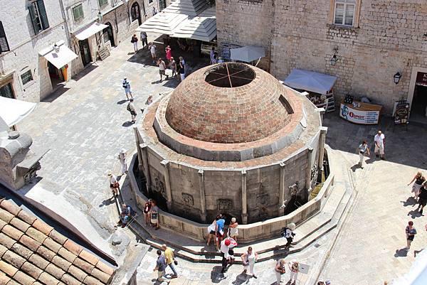 Croatia, Dubrovnik-120613-166-歐諾弗利歐水池